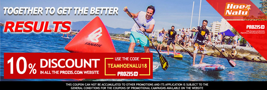 Discounts in Prozis with the HoeNalu SUP Team