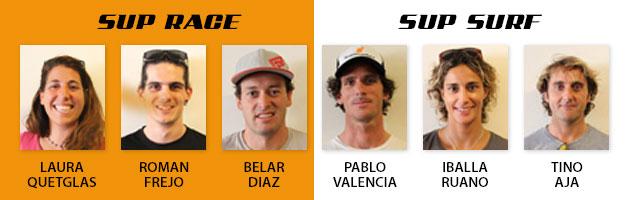 Riders del Equipo de SUP Español