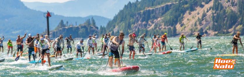 Hood River gorge Paddle challenge