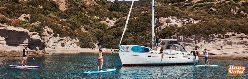Disfruta más de tu embarcación con una tabla de SUP