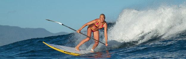Coger Olas y surfear con tu paddle surf