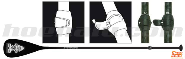 Ejemplo de remos ajustables para hacer Stand Up Paddle