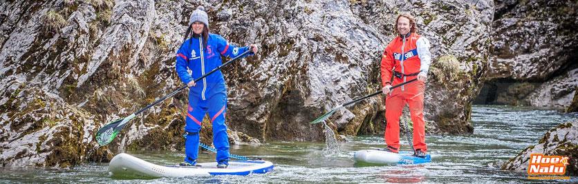El Paddle Surf en compañía es más seguro y más divertido