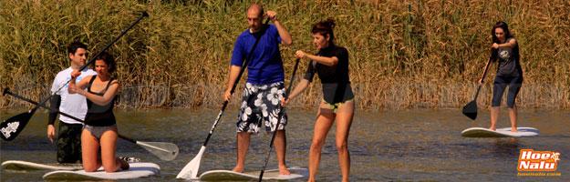 Para iniciarse en el Stand Up Paddle mejor hacer un curso de iniciación al SUP