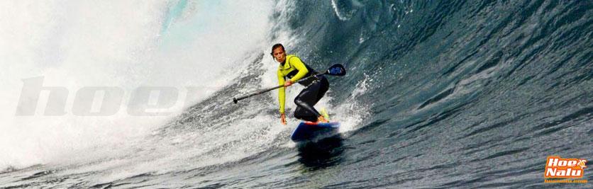 Iballa acumula éxitos en la modalidad de SUP en olas