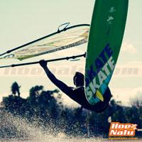 Pablo Ania también practica Windsurf