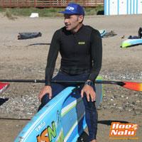 Daniel Parres siempre ha estado unido a los deportes acuáticos