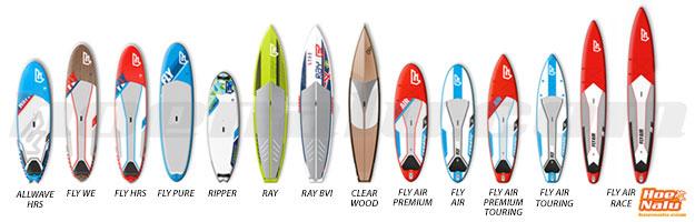 Gama de Tablas Allround de Stand Up Paddle Fanatic SUP 2014