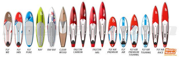 Gama de Tablas de travesía Stand Up Paddle Fanatic SUP 2014