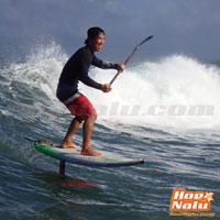Nuevas sensaciones en las olas con el SUP foil