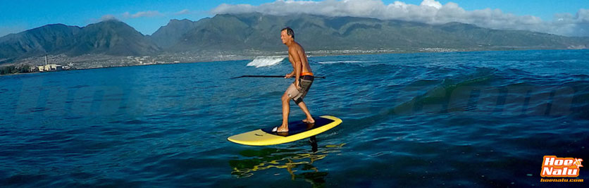 SUP foil en Hawai