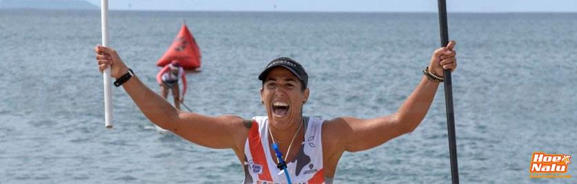 Laura Quetglas acumula numerosas victorias en el SUP race
