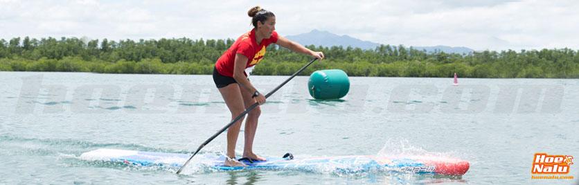 Laura Quetglas es parte de la selección nacional de SUP