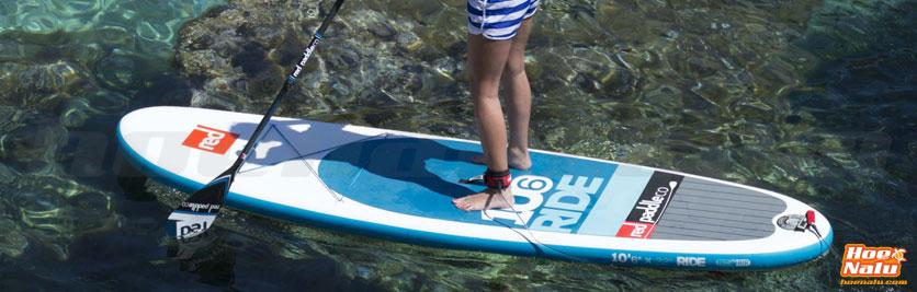 El leash de SUP es básico para tu seguridad en el agua