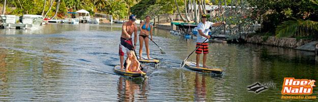 Practicar el Stand Up Paddle en diferentes entornos