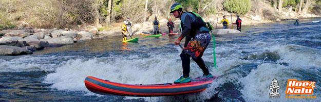 SUP en ríos de aguas bravas, pura adrenalina