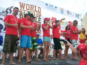 Pedro Gutierrez Mundial ISA de SUP en Perú 2012