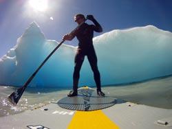 Expedición SUP al cruce del estrecho de Magallanes