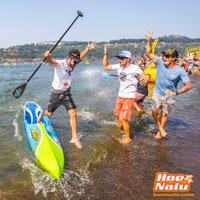 Titouan ganador en Gorge Paddle Challenge con la nueva Carolina