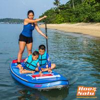 Las tablas de paddlesurf hinchables son perfectas para disfrutar en familia