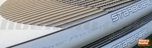 RailSaverPro Clear en Starboard AST Silver
