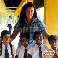 Tati Coco SUP promotora principal del proyecto de SUP mas enseñanza en Sri Lanka
