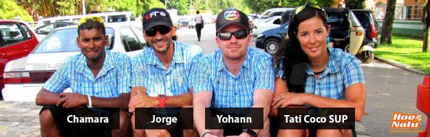 Personas que lograron el Sri Lanka SUP Project