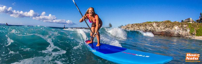 El Paddle Surf es muy divertido