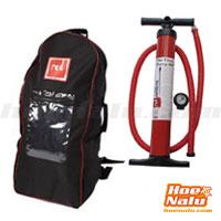 Bomba de hinchar Ezee Pump de alta presión y Mochila Red para llevar tu tabla