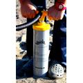 La bomba de aire para hinchar las tablas de SUP Naish