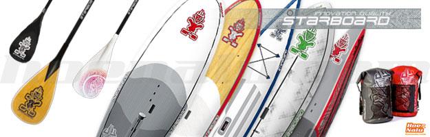 Gama de productos SUP de la Marca StarBoard en 2013