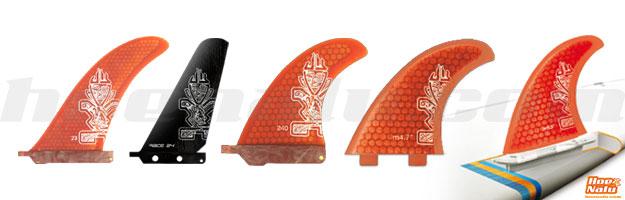 Gama de quillas o aletas de SUP StarBoard 2013