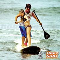 Practicar SUP con un niño es garantía de diversión