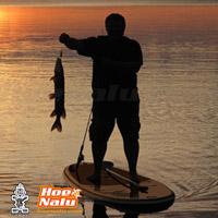 Pescar en una tabla de SUP hinchable - Starboard Astro Fisherman