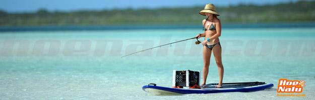 Pescar en tu tabla de SUP o hacer SUP fishing