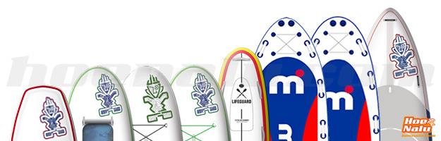 Comparativa Paddle Surf Hinchable Otros modelos 2015