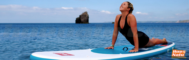 SUP Yoga en una tabla RedPaddle Co