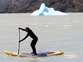 SUP en aguas frías