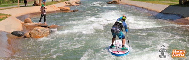 Consejos para practicar SUP en aguas bravas