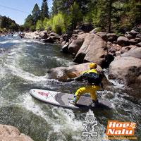 Whitewater SUP o PaddleSurf en ríos con aguas bravas con Starboard