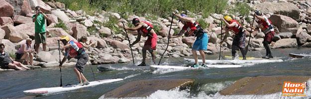 Tablas de Paddlesurf para hacer whitewater SUP o descensos por aguas bravas