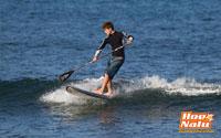 Comienza a coger olas pequeñas, no necesitas olas grandes para disfrutar