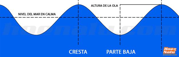 Periodos y frecuencia de las olas