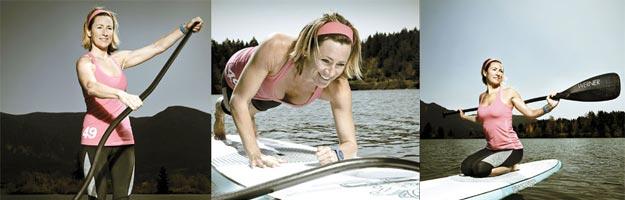 SUP Fitness, ejercicios sobre la tabla de SUP