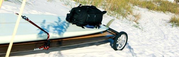 SUP Wheels para transportar tu tabla de SUP