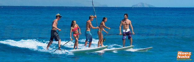 SUP surf en grupo puede ser una experiencia muy divertida