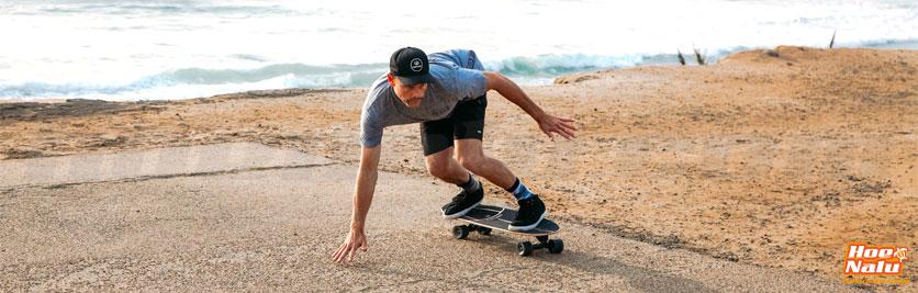 Entrena tu surf en el asfalto