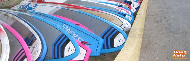 Formas y diseños de tails de tablas de SUP
