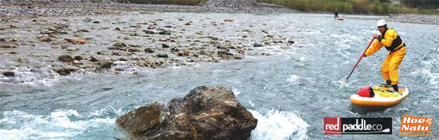 SUP en ríos de aguas bravas