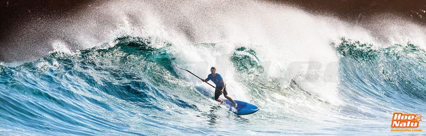 Surfea con una tabla de SUP pequeña